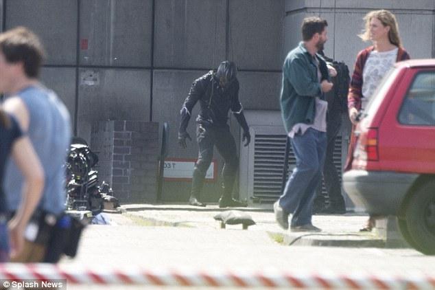 Capitán América Civil War rodaje Berlín 35