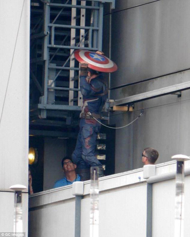 Capitán América Civil War rodaje Berlín 38