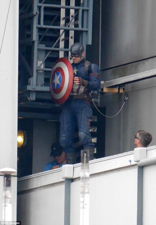 Capitán América Civil War rodaje Berlín 39
