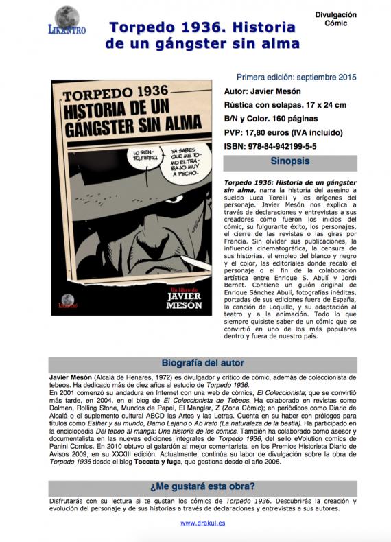 Torpedo 1936 - Un gángster sin alma