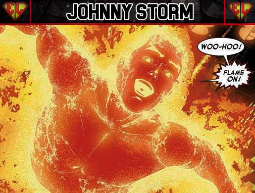 Chico de la semana johnny storm