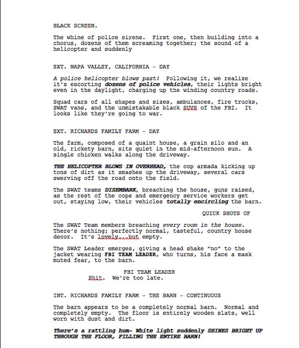 'Cuatro Fantásticos' - Max Landis guion 01