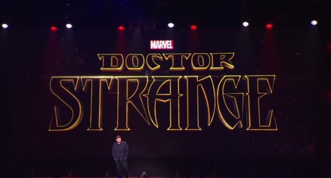 D23 presentación Doctor Extraño