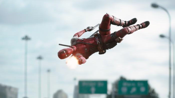 Deadpool luchando