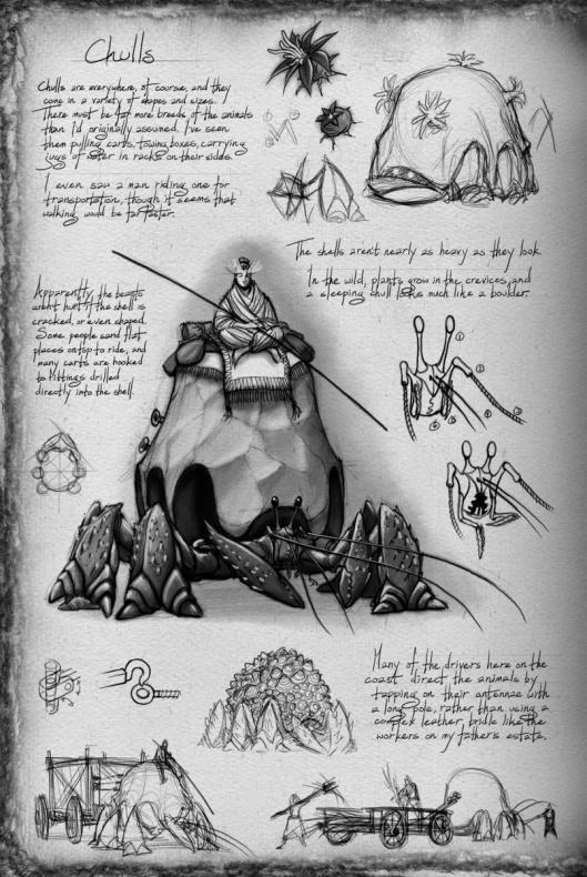 Bocetos El Camino de los Reyes