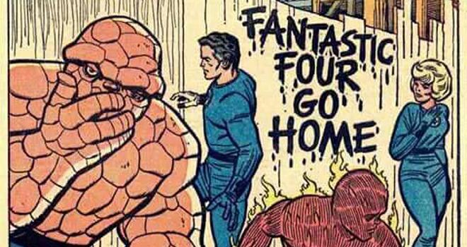 Fantastic Four go home - destacada