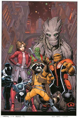 Guardianes de la Galaxia portada por Arthur Adams