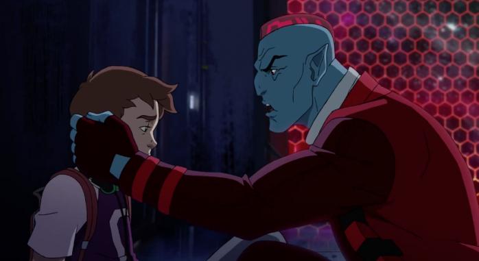 Guardianes de la galaxia serie animacion
