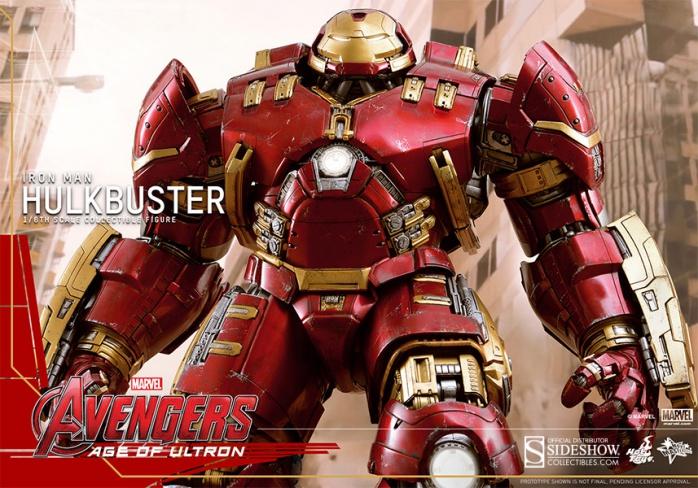 Hot Toy Hulkbuster 10