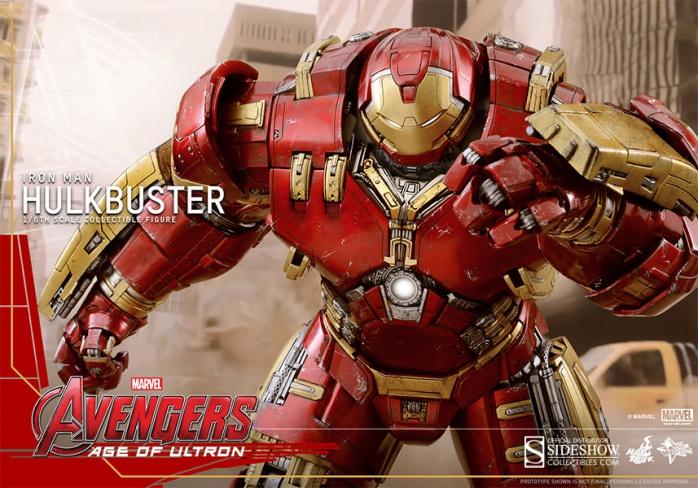 Hot Toy Hulkbuster 12