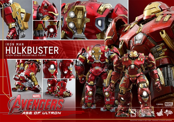 Hot Toy Hulkbuster 16