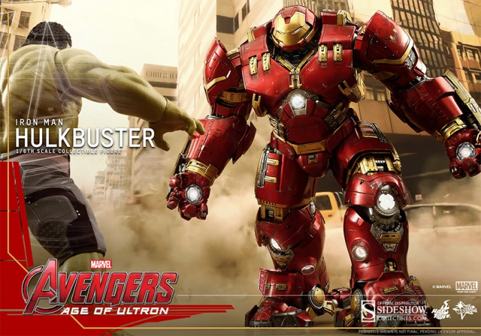 Hot Toy Hulkbuster 4