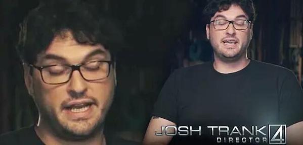 Josh Trank ojos cerrados
