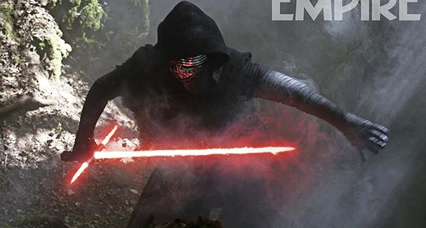 Kylo Ren - Star Wars Episodio VII - revista Empire