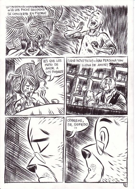 La tetería del oso malayo página 1