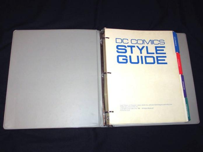 Libro de estilo DC Comics 6