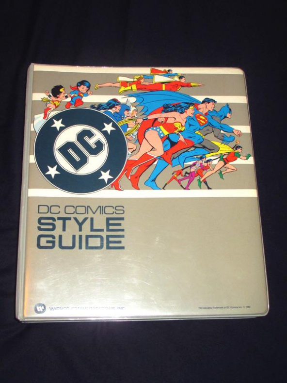 Libro de estilo DC Comics 9