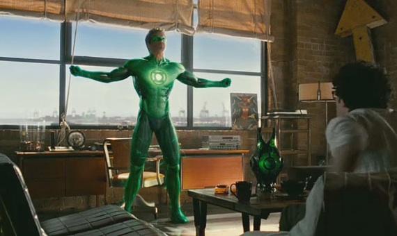 Linterna Verde traje