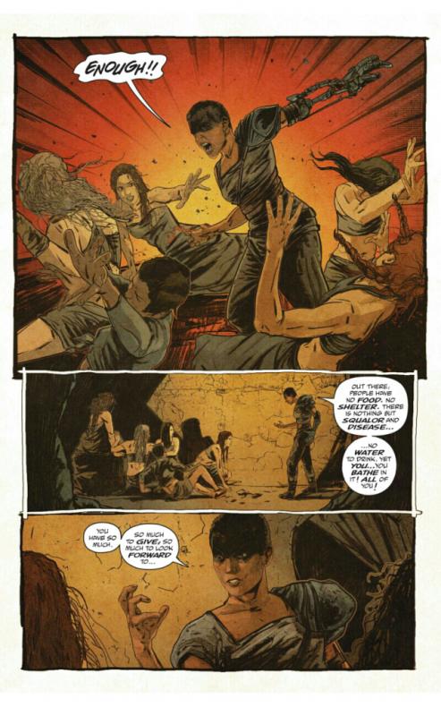 Mad Max Furiosa cómic