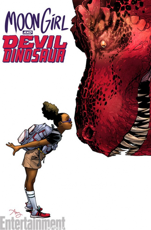 Moon Girl and Devil Dinosaur Portada