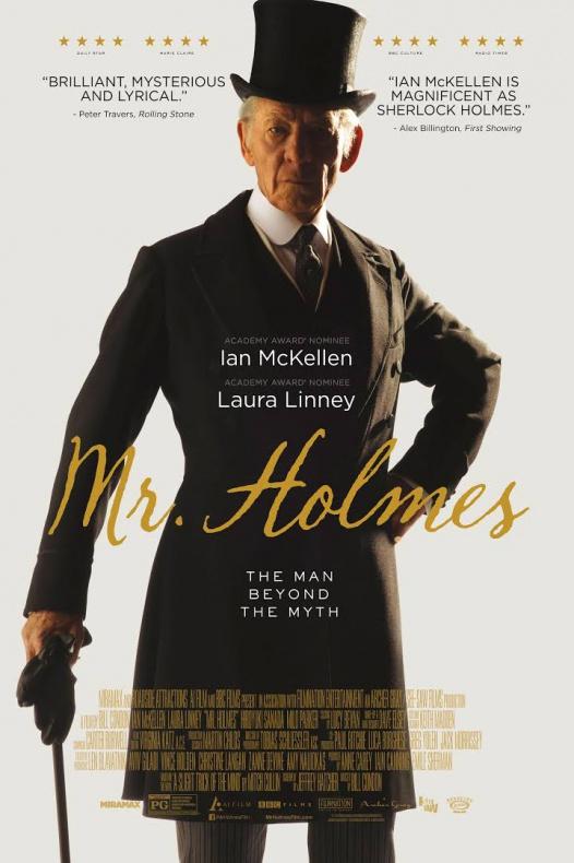 Mr Holmes - póster