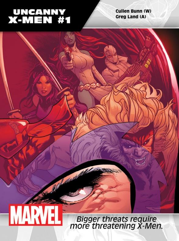Portada de Uncanny X-Men