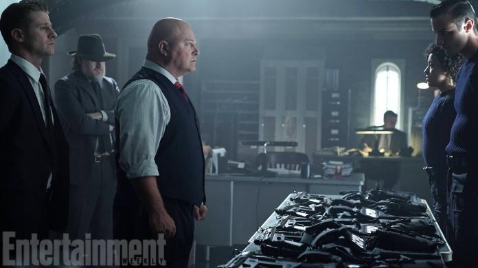 Primera imagen de Michael Chiklis en Gotham