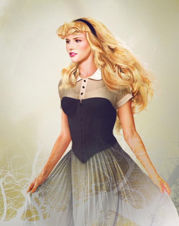 Princesas Disney reales 3