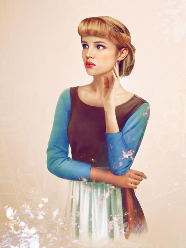 Princesas Disney reales 5