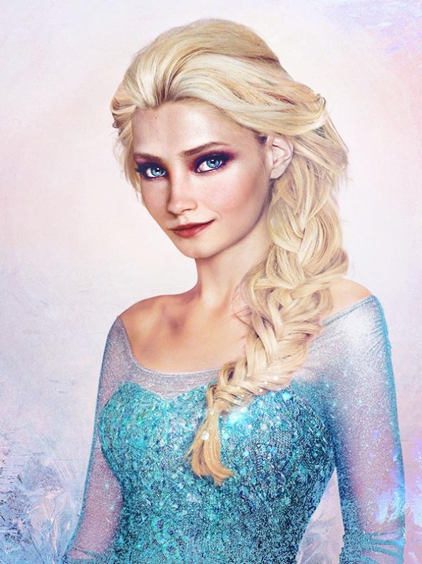 Princesas Disney reales 6