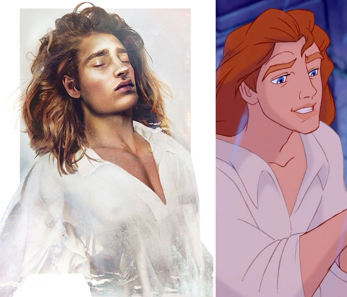 Principes Disney reales 4