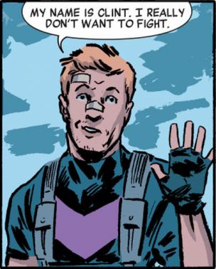 Clint el pacifista