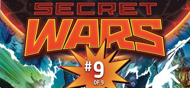 Secret Wars 9 logo