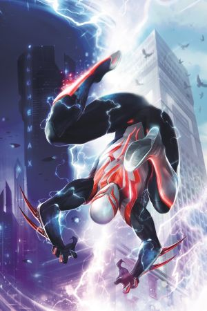 Spider-Man 2099 Portada Alternativa de Francesco Mattina