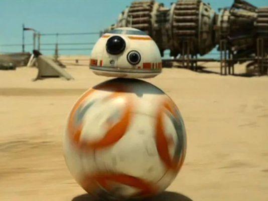 Star Wars: El despertar de la fuerza Nombres BB8