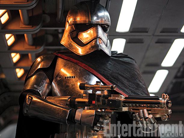 Star Wars: El despertar de la fuerza Nombres Capitán Phasma