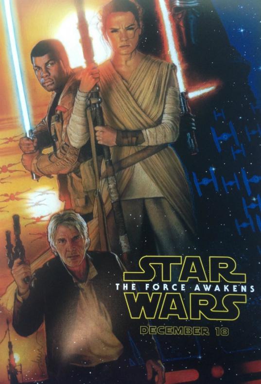 Star Wars: El despertar de la fuerza Poster 01