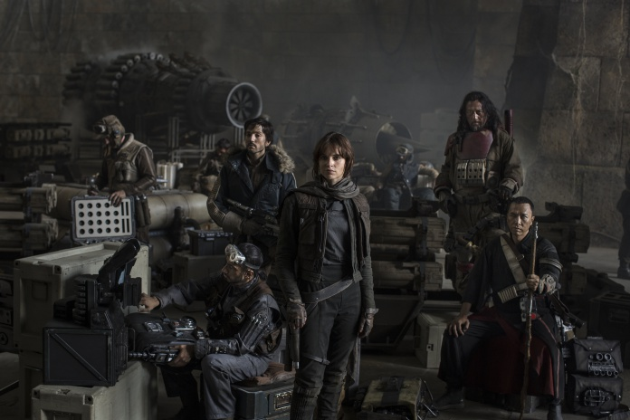 Star Wars Rogue One - Primera foto oficial reparto HD