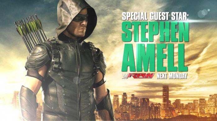 Stephen Amell RAW