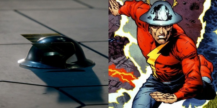Casco de Jay Garrick en The Flash