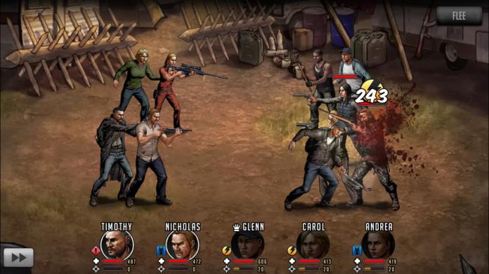 The Walking Dead - Combate