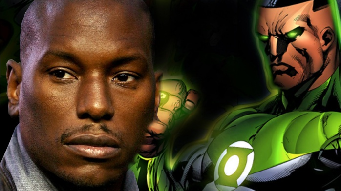 Tyrese Gibson - Green Lantern