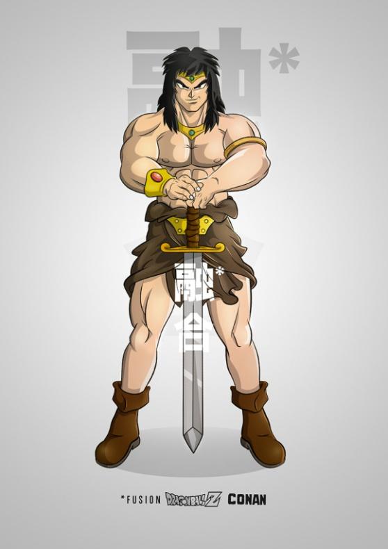 Conan Dragon Ball Z