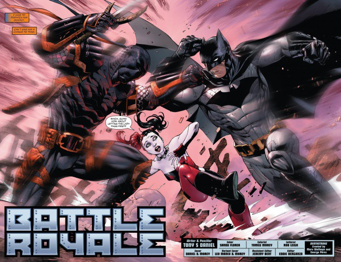 deathstroke vs batman