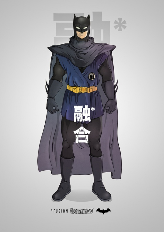 Batman Dragon Ball Z