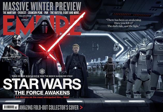 empire star wars vii octubre 1