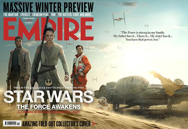 empire star wars vii octubre