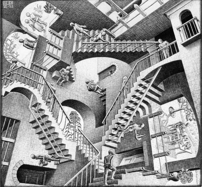 Escher - Relatividad
