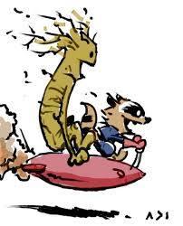 mapache-cohete-groot-calvin-y-hobbes