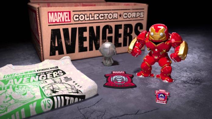 'Marvel Collector Corps', la